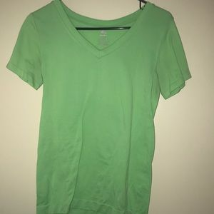 Reebok Lime Green Work Out Top